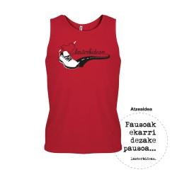 Camiseta tirantes deportiva...
