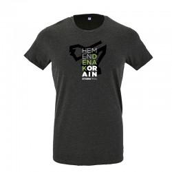 Camiseta corte recto Denak...